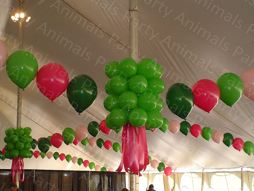 Ceiling decor for Balloon decoration for ceiling
